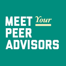 Meet Your Peer Advisors
